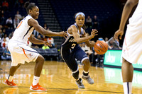Game Action - UVA 2015 Women's Basketball
