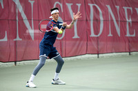 Game Action - Morgan State 2017 Men's Tennis