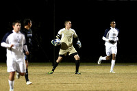 Game Action - Houston Baptist 2011 Men's Soccer