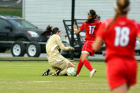 Game Action - Liberty 2012 Women's Soccer