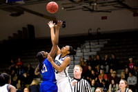 Game Action - Presbyterian 2015 Women's Basketball