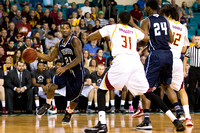 Game Action - Winthrop Tournament 2015 Men's Basketball